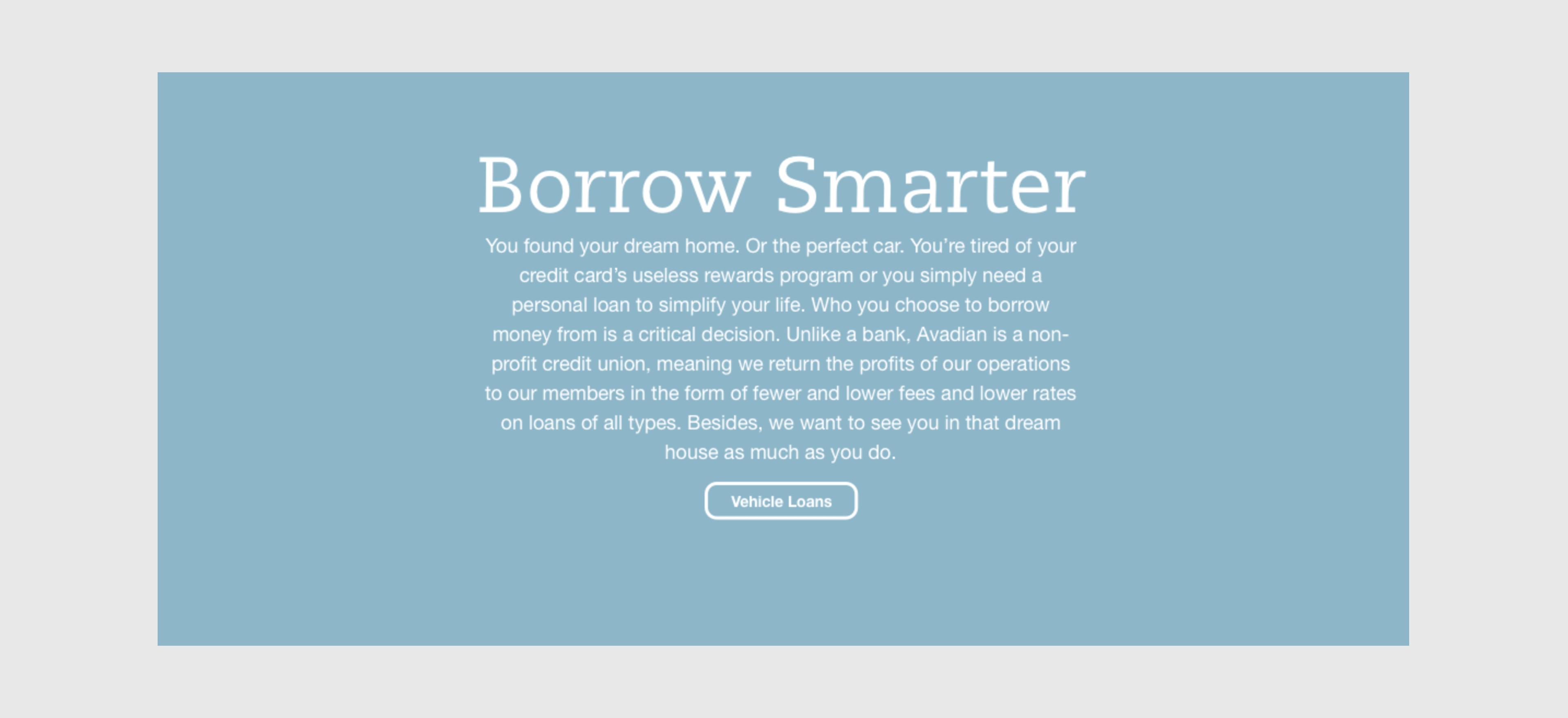 Borrow Smarter